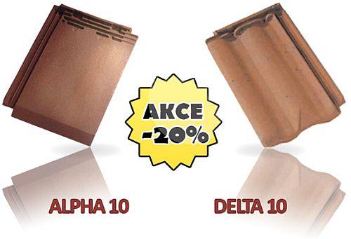 Akce na keramické pálené tašky Eurotop Bohemia