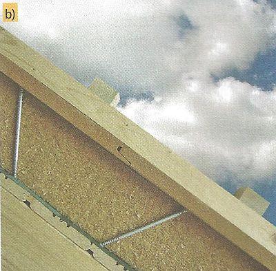 Zajištění sypkého materiálu, jako je celulóza nebo konopí - praktické provedení, zdroj: Homatherm