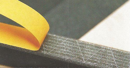 Celoplošný lepící spoj vyztužený tkaninou pro dokonalé spojení, zdroj: ERGO