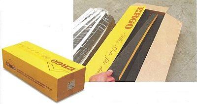 Odolné balení do žlutých ERGO kartonů pro komfortní manipulaci a ochranu střešních klínů, zdroj: ERGO
