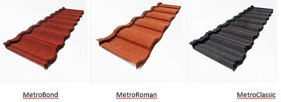 Střešní krytiny Metrotile, zdroj: METROTILE