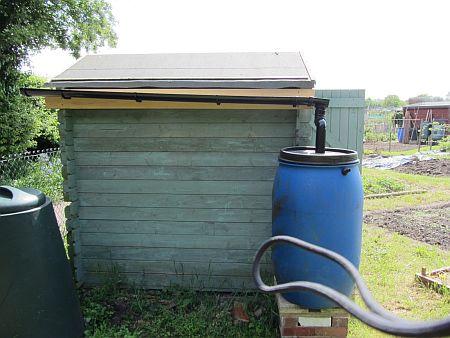 Ilustrační foto, sběrač dešťové vody, zdroj: internet