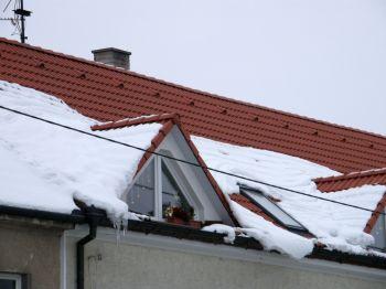 Příprava střechy na zimu KM BETA