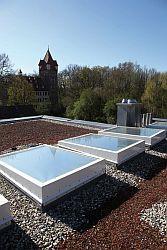 ilustrační foto, plochá střecha u pasivního domu, zdroj: internet