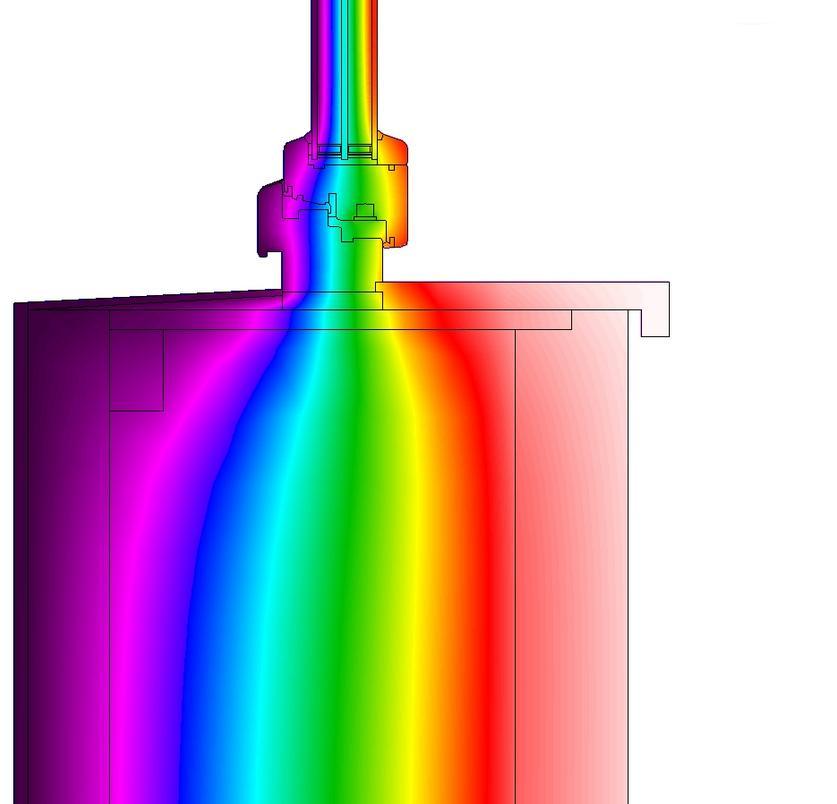 montáž okna do masivní dřevostavby do kastlíku tvořeného OSB deskou - termovize