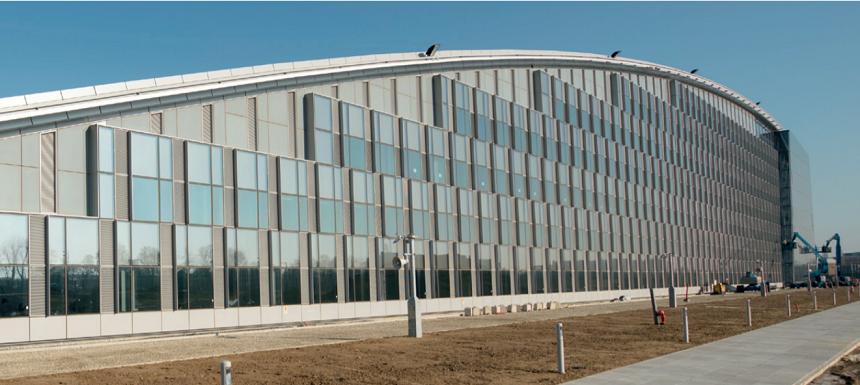 Dokončovací práce centrály NATO v Bruselu