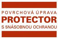 Povrchová úprava PROTECTOR, značka, zdroj: BRAMAC