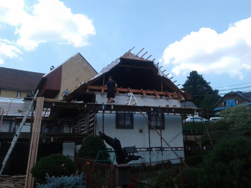 Stavební práce Roubenky vHlásnici