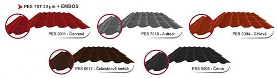 Standardní barevné provedení hliníkové tašky COMAX EMBOS, zdroj: COMAX