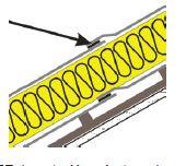 Páska JUTADACH SP 38 (difuzní membrána s integrovanými páskami JUTADACH.....2AP, zdroj JUTA a.s.