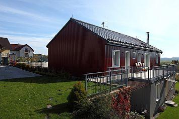 Dvoupodlažní RD Klínovec, foto zdroj: Lindab