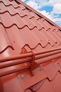 Bezpečnostní prvky na střechu Lindab Safety, zdroj: Lindab