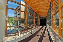 Mezi reference IMP Klima patří i vytápění lázeňských center, foto zdroj: Lindab