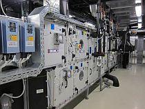 Ukázka jednotky ve strojovně vzduchotechniky, foto zdroj: Lindab