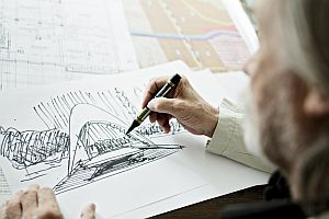 architekt Janusz Labuz z architektonické společnosti Plockie Prakownie Projektowe; zdroj: PREFA