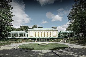 novogotický zámek Opinogóra, Polsko; zdroj: PREFA