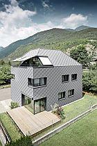 Střešní a fasádní falcovaná šablona 44x44, zdroj: PRAFA Aluminiumprodukte
