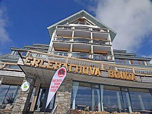 Erlebachova bouda – Krkonoše, místo vyhlášení výsledků cen Bull of the year 2015 společnosti PREFA Aluminiumprodukte s.r.o.; zdroj: Prefa Aluminiumprodukte s.r.o.