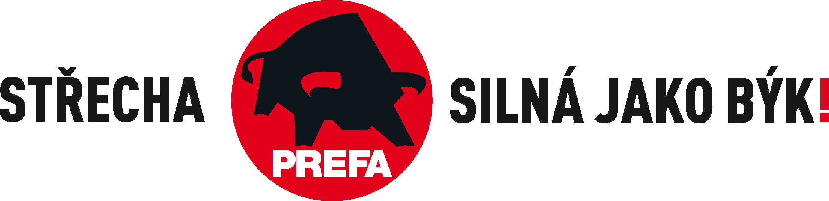 PREFA logo - střecha silná jako býk