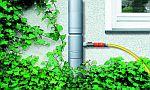 Sběrač dešťové vody RHEINZINK s rychlospojkou, zdroj: RHEINZINK