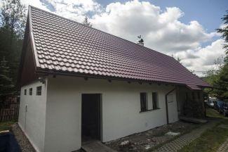 krytina Finnera s vlnou se v Čechách často používá pro rekonstrukce chat a chalup, foto zdroj Ruukki
