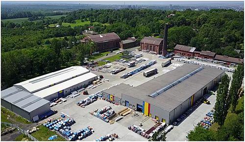 Ilustrační foto, střešní krytiny Satjam pro průmyslové stavby, zdroj: SATJAM