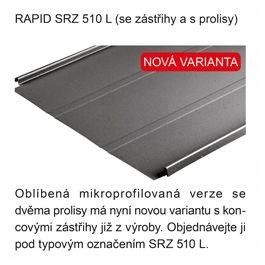 Satjam Rapid SRZ 510 L mikroprofilovaná verze se zástřihy, zdroj: SATJAM s.r.o.