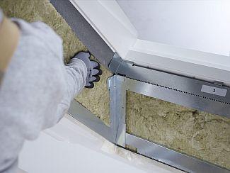 Tepelná izolace kolem střešního okna Velux, zdroj: Velux