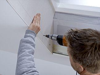 Ukotvení opláštění ke střešnímu oknu Velux, zdroj: Velux