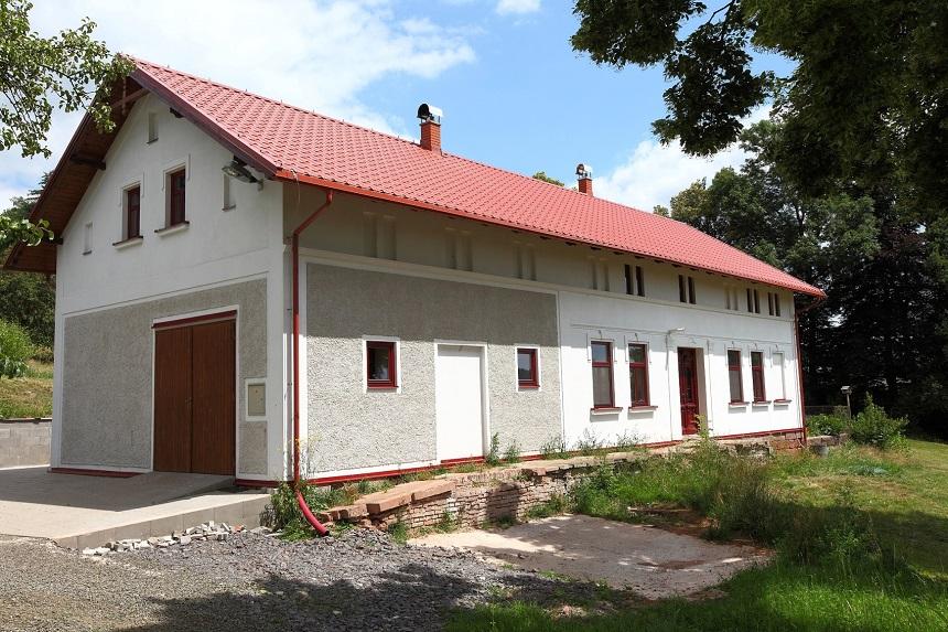 Stoletý dům v románském stylu