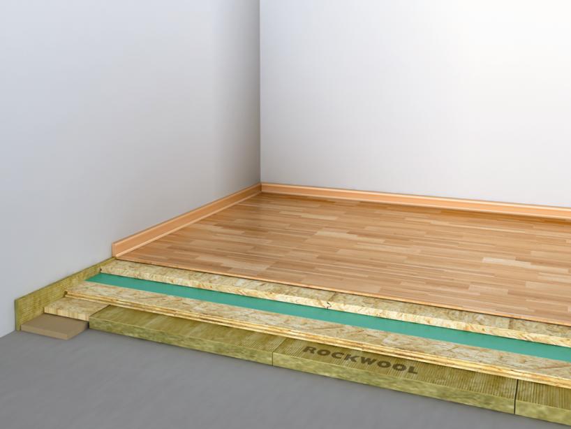 Lehká plovoucí podlaha