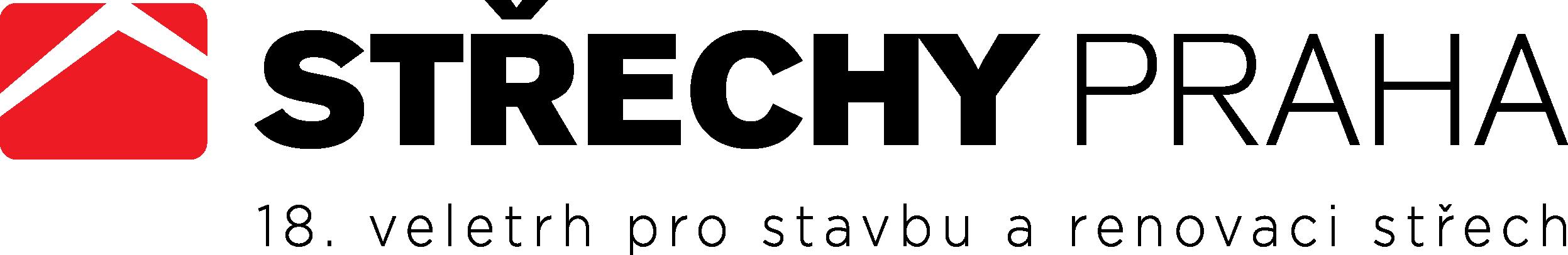 Logo veletrhu Střechy Praha 2015