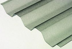 trapézové polykarbonátové desky s krupičkou na povrchu Suntuf 76/16