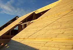 Dřevěné desky na bednění