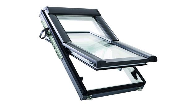 ROTO - dřevěné střešní okno Designo WDF R68C H N -zasklení 8C