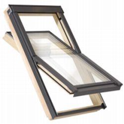 Dřevěné střešní okno Satjam Aura AVX B 700