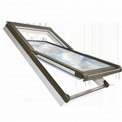 Střešní okno plastové výklopně-kyvné Fenestra Plastic PV