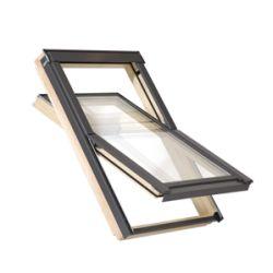 Dřevěné střešní okno Satjam Aura AVX B 800