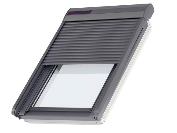 Dálkově ovládaná venkovní roleta na solární pohon (SSL)