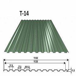 Trapézový plech T14