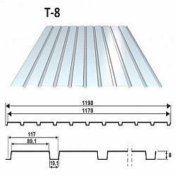 Trapézový plech T8