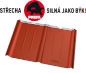 PREFA - Falcovaná střešní taška