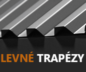 Akční sleva na trapézové plechy