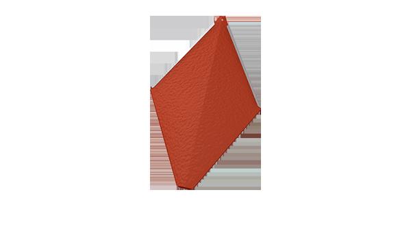 PREFA věžovka - Malá střešní šablona