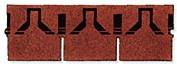 bitumenový šindel Rett. tvar obdelník