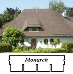 bitumenový šindel Monarch- 4 tabulový