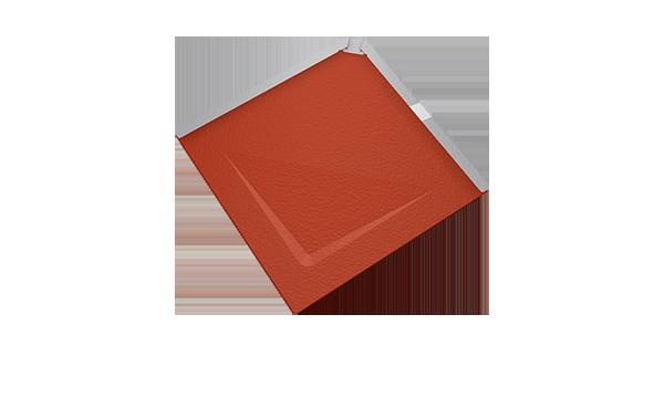 Prefa falcovaná střešní šablona 29x29