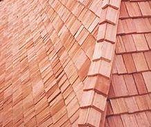 Alpský dřevěný šindel