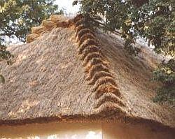 Doškové střechy Slámové