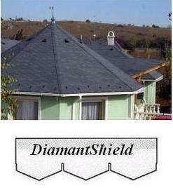bitumenový šindel DiamantShield